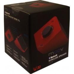 Uniden - MOOV626 RED - Uniden MOOV626 Bluetooth Speaker-Red
