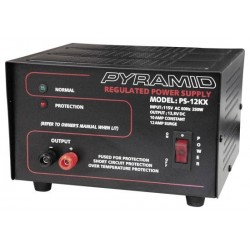 Pyramid Car Audio - PS12K - Pyramid PS12 12 Amp Power Supply
