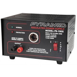 Pyramid Car Audio - PS15K - Pyramid PS15 12 Amp Power Supply with Cigarette Lighter Socket