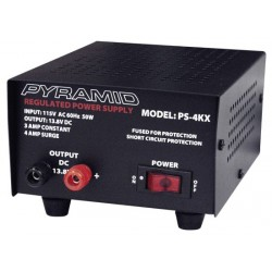 Pyramid Car Audio - PS4K - Pyramid PS4 4 Amp Power Supply