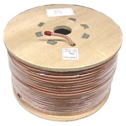 Other - RG8X-250C TAC - True American Cable Clear Mini RG8 Coaxial Cable-250 Foot