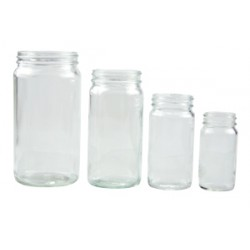 Qorpak - 215784 - Plain Medium Round Bottles