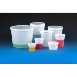 Qorpak - 235292 - Translucent Storage Containers with Snap-On Lids