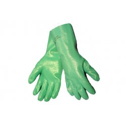 Qorpak - AKM-5500-0054 - Nitrile Chemical Handling Gloves