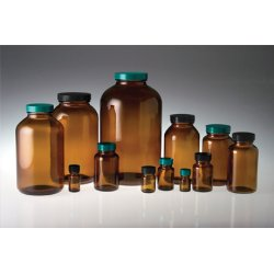 Qorpak - GLA-00922 - 300mL Packer Bottle, Wide Mouth, PK 96