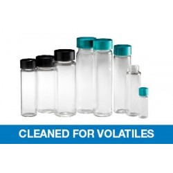 Qorpak - GLC-00990 - VOA Vials - Clear Screw Thread, Cleaned for Volatiles