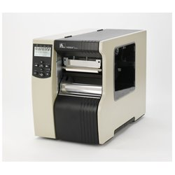 "Zebra Technologies - 140-801-00100 - Zebra 140Xi4 Direct Thermal/Thermal Transfer Printer - Monochrome - Desktop - Label Print - 5.04"" Print Width - 14 in/s Mono - 203 dpi - 16 MB - USB - Serial - Parallel - Ethernet - LCD - 5.51"" Label Width - 12.50 ft"