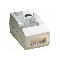 Ithaca - 151PRJ11-AC-DG - Ithaca, 150 Series, Impact Receipt Printer, 25 Pin Parallel, 36 Pin Adapter, Auto-cutter, Dark Gray, Includes Power Supply, Cord, And Cable