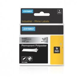 "DYMO - 18485 - Dymo RhinoPRO Metallized Polyester Tape - 0.35"" x 18'"