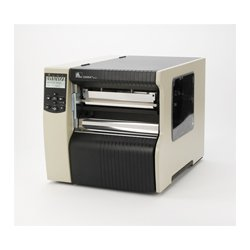 "Zebra Technologies - 220-801-00100 - Zebra 220Xi4 Direct Thermal/Thermal Transfer Printer - Monochrome - Label Print - 8.50"" Print Width - Catch Tray - 10 in/s Mono - 203 dpi - 16 MB - USB - Serial - Parallel - Ethernet - 8.80"" Label Width - 12.50 ft"