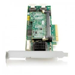 Hewlett Packard (HP) - 572531-B21 - HP Smart Array P411 8-port SAS RAID Controller - Serial ATA/300 - PCI Express 2.0 x8 - Plug-in Card - RAID Supported - 0, 1, 1+0, 5, 5+0, 6, 50 RAID Level - 2 Total SAS Port(s) - 2 SAS Port(s) Internal - 2 SAS Port(s)