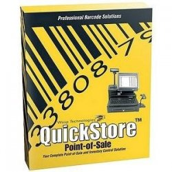 Wasp Barcode - 633808471392 - QuickStore POS Solution Enterprise Edition - Box pack - 2 stores (1 lane per store) - CD - Win