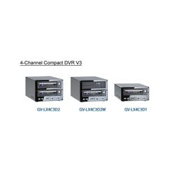 GeoVision - 84-LX4D1-200U - GeoVision GV-LX4C3D1 Digital Video Recorder - H.264, MJPEG, AVI, D1 - Fast Ethernet - VGA - USB