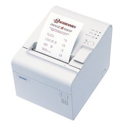 Epson - C414014 - Epson TM-L90 POS Thermal Label Printer - Monochrome - 150 mm/s Mono - 203 x 203 dpi - Parallel