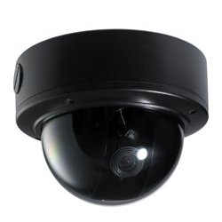 IC Realtime - EL750 - Indoor/outdoor Vandal Black Dome, 1/3 I-sniper Pixim 690h Image Sensor, 720tv Lines, 2.8-12mm Lens, 12vdc/24vac - No Power Supply Included