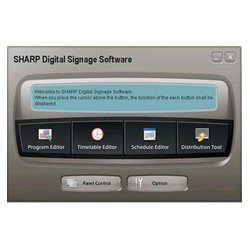 Sharp - PNSV01 - Sharp Digital Signage Software Viewer Version - Complete Product - 1 User - Standard - Creativity Application - Retail - PC