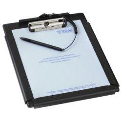 Topaz Systems - T-C912-B-R - Topaz ClipGem T-C912-B-R Signature Pad - Active Pen - 8.50 x 10 Active Area - Serial
