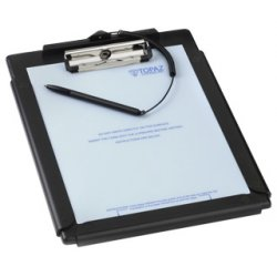 Topaz Systems - T-C912-HSB-R - Topaz ClipGem T-C912 Electronic Signature Capture Clipboard - Active Pen - 8.50 x 10 Active Area - USB - 275 PPI