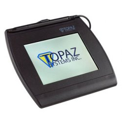 Topaz Systems - T-LBK462-HSB-R - Topaz SignatureGem T-L462 Signature Capture Pad - Backlit LCDUSB - 4.30 x 1.30 Active Area LCD - Backlight - USB - 410 PPI