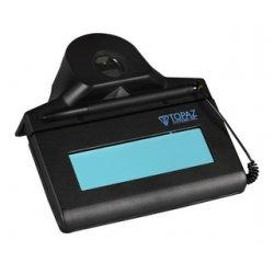 Topaz Systems - TF-S460-HSB-R - Topaz, Id-lite, Transaction Terminal, 1x5 Hid-usb W/authentec Fingerprint Rdr, Z-tf-s460-hsb