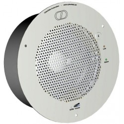 Other - 011105 - CyberData VoIP Syn-Apps enabled Speaker Signal White - 011105