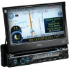 Boss Audio Systems - BV9980NV - BOSS AUDIO BV9980NV Single-DIN 7 inch Motorized Touchscreen DVD Player, Receiver GPS Navigation, Bluetooth, Detachable Front Panel, Wireless Remote - Plays | CD±R/RW, DVD±R/RW, MP3/DVD/CD/USB/SD
