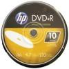 Hewlett Packard (HP) - DR16WIJH010CB - HP DR16WIJH010CB 4.7GB 16x Printable DVD+Rs, 10-ct Cake Box Spindle