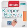 Maxell - 190151 - Maxell CD/DVD Keeper Sleeves - Color (25 Pack) - Sleeve - Plastic - Assorted