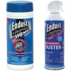 Endust - NOZDUST70KIT - Endust 255050 Electronics Duster 259000 Anti-static Pop-up Wipes