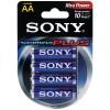 Sony - S-AM3B4A - SONY S-AM3B4A STAMINA(R) PLUS Alkaline Batteries (AA; 4 pk)