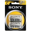 Sony - SUM1NU-B2 - Sony SUM1NUB2 General Purpose Battery - D - Zinc Carbon - 1.5 V DC - 2 Pack