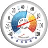 Springfield - 90078 - 13.25' Wind Chill/Heat Index Thermometer