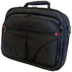 Travel Solutions - 23004 - Travel Solutions 23004 Carrying Case for 15.4 Notebook - Black - Polyester - Shoulder Strap, Handle - 14 Height x 17.5 Width x 3.3 Depth