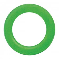 Forza Cables - COLOR BAND 2GREEN - FORZA COLOR BAND 2GREEN Compression Connector Identification Bands, 100 pk (Green)