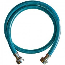 UDP - WA0707004 - UDP WA0707004 Blue Cover Stainless Steel Inlet Hose Assembly (4ft)