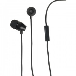 RCA - HP159MICBKZ - RCA(R) HP159MICBKZ Stereo Earbuds with In-Line Microphone