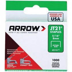 Arrow Fastener - 21524 - Arrow(R) 21524 Thin Wire Staples, 1, 000 pk (5/16)