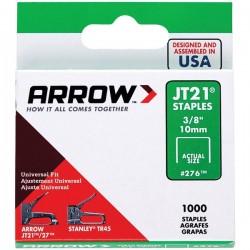 Arrow Fastener - 27624 - Arrow(R) 27624 Thin Wire Staples, 1, 000 pk (3/8)