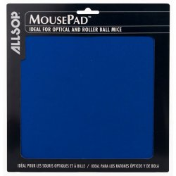 Allsop - 28228 - Allsop Basic Mouse Pad - Blue, Black