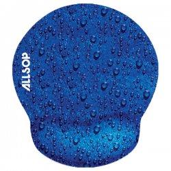 Allsop - 28822 - Allsop Raindrop Mouse Pad Pro - Blue