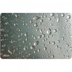 Allsop - 29648 - Allsop Widescreen Raindrop Mouse Pad - Silver