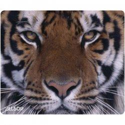 Allsop - 30188 - Allsop Naturesmart 30188 Tiger Mouse Pad - 0.1 x 8.5 Dimension - Rubber, Cloth