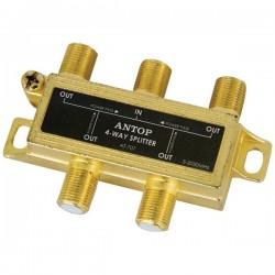 Antop Antenna - AT-707 - Antop Antenna Inc AT-707 4-Way 2GHz Low-Loss Coaxial Splitter