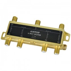 Antop Antenna - AT-708 - Antop Antenna Inc AT-708 6-Way 2GHz Low-Loss Coaxial Splitter