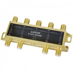 Antop Antenna - AT-709 - Antop Antenna Inc AT-709 8-Way 2GHz Low-Loss Coaxial Splitter