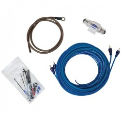 Stinger Electronics - SSK4ANL - Stinger(R) SSK4ANL Select Wiring Kit with Ultra-Flexible Copper-Clad Aluminum Cables (4 Gauge)