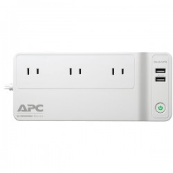 APC / Schneider Electric - BGE90M - APC by Schneider Electric Back-UPS Connect 90, 120V, Network Backup, USB Charging Ports - 125 VA/75 W - 120 V AC - 36 Minute Stand-by Time - Tower - 3 x NEMA 1-15R