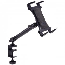 Arkon Resources - TAB804 - ARKON TAB804 Heavy-Duty Aluminum C-Clamp Universal Tablet Mount (10)