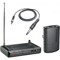 Audio Technica - ATR7100G-T3 - Audio-Technica ATR7100G Wireless Microphone System - 170.25 MHz Operating Frequency - 80 Hz to 13 kHz Frequency Response - 196.85 ft Operating Range
