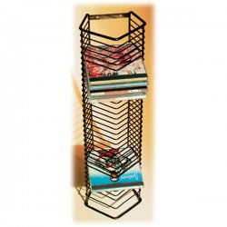 Atlantic - 1209 - Atlantic - Onyx CD Tower - Steel